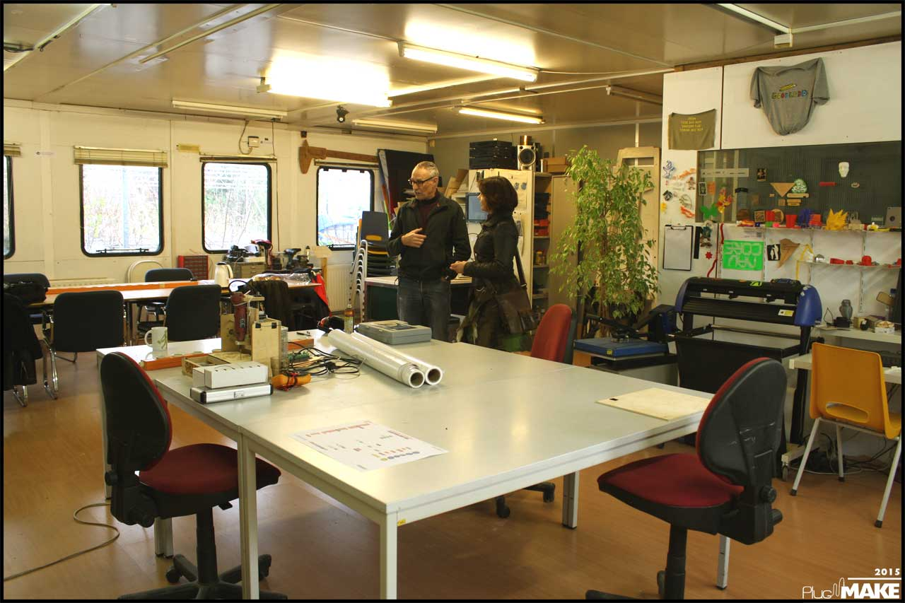 FabLab Amersfoort work space