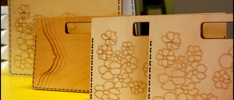 Laser cut bags
