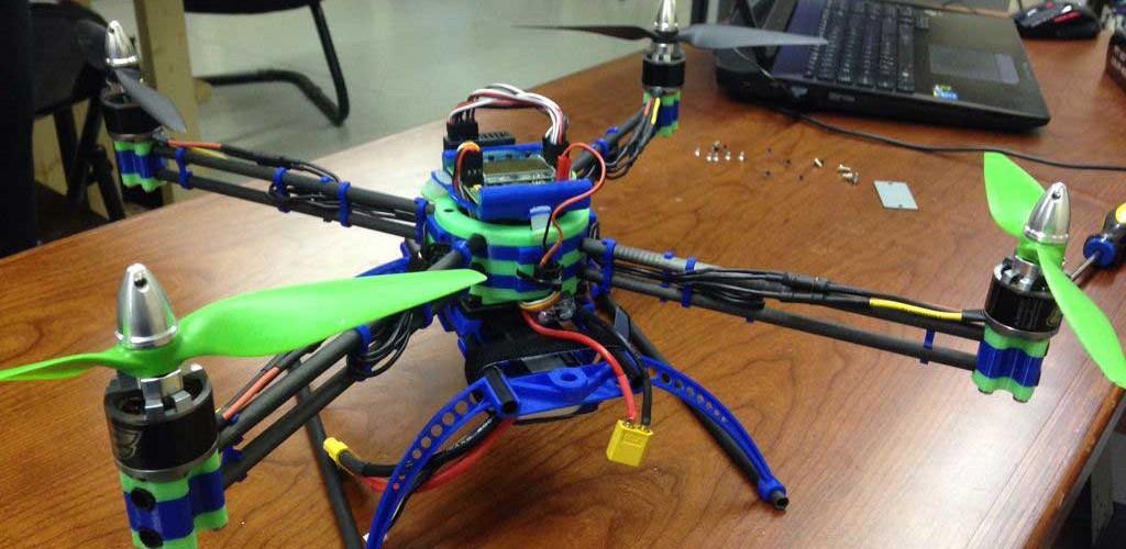 Jim Spencer's quadcopter
