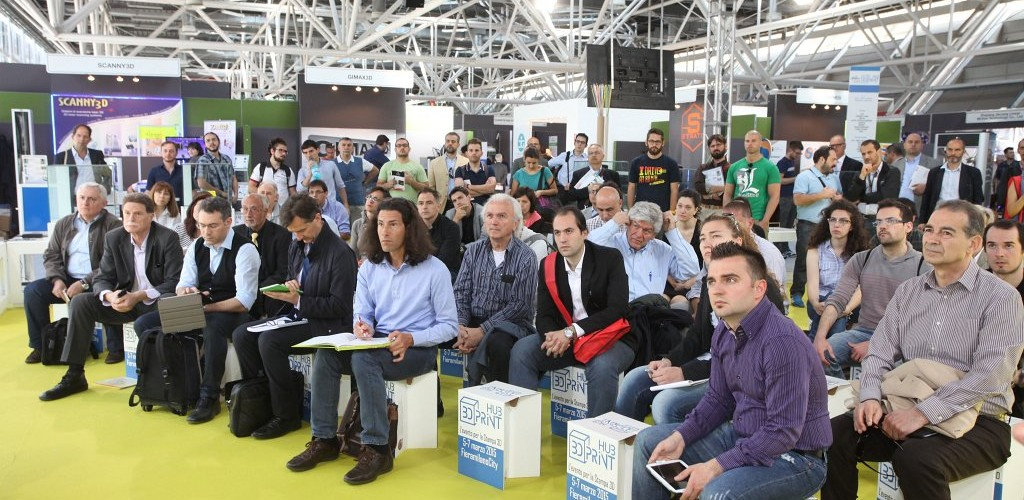 Conference and presentations at 3DPrint Hub