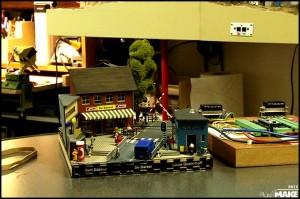 Bart Bakker's diorama