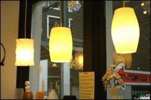Erik Swetter's lamps