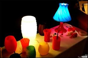 Erik Swetter's lamps and va