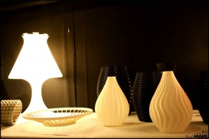 Erik Swetter's lamps and vases