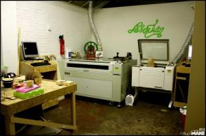 FabLab013 laser cutters