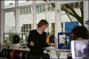 Joris van Tubergen during the interview