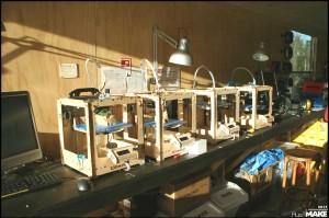 Kaasfabriek 3D printers