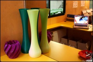 FryskLab - 3D printed vases