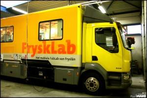 FryskLab truck