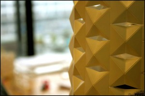 Laser cutted lampshade