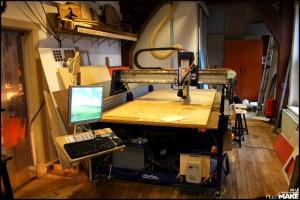 FabLab Amsterdam - Milling machine
