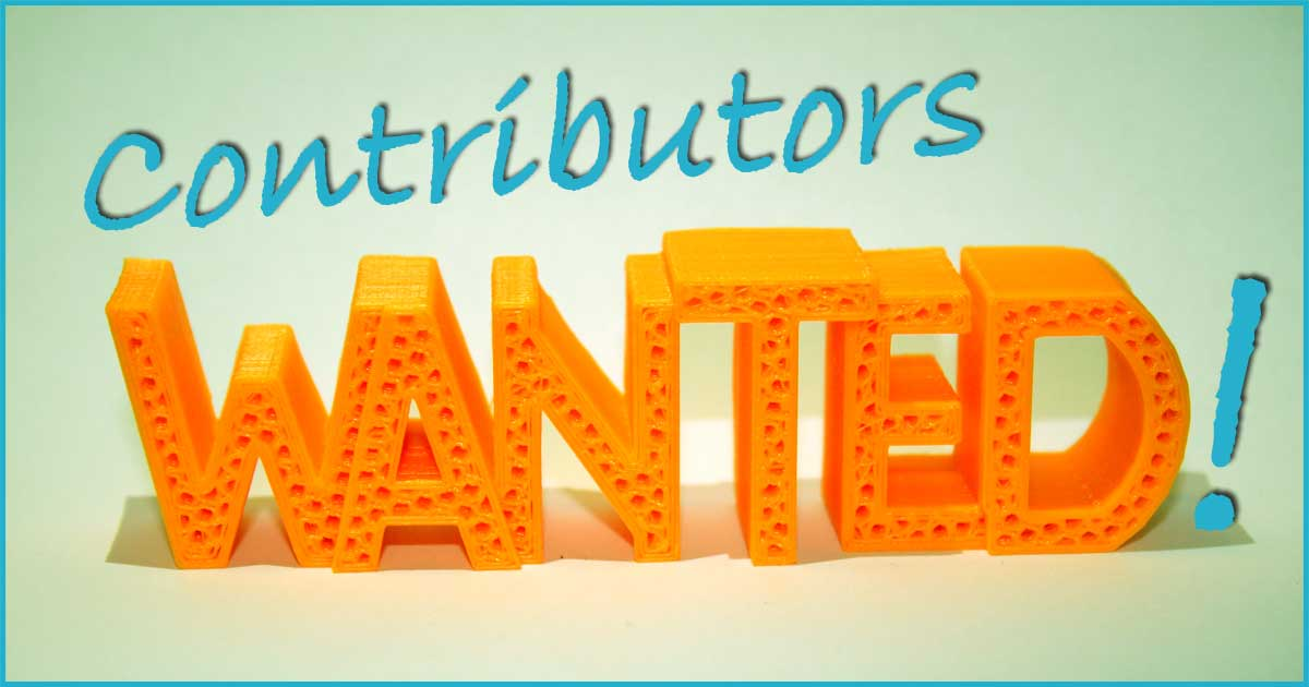 Contributors Wanted!