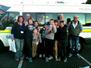 Glanmire CoderDojo Ninjas hitch a ride to the RDS Dublin for the Coolest Project Awards