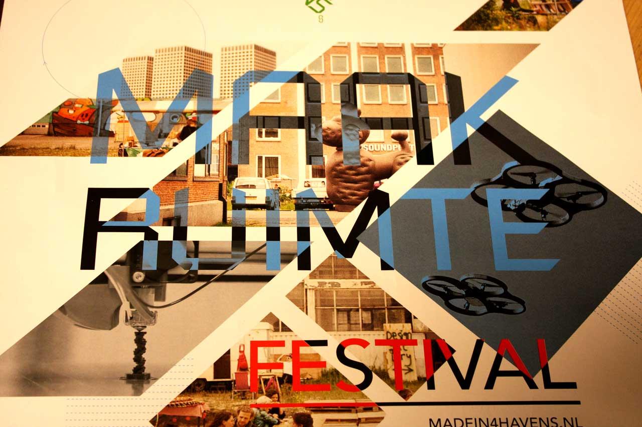 Maak Ruimte poster