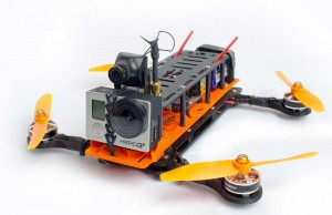 Hovership-MHQ quadcopter. Photograph: © Hovership