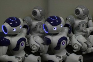 Nao robo at Jaume University