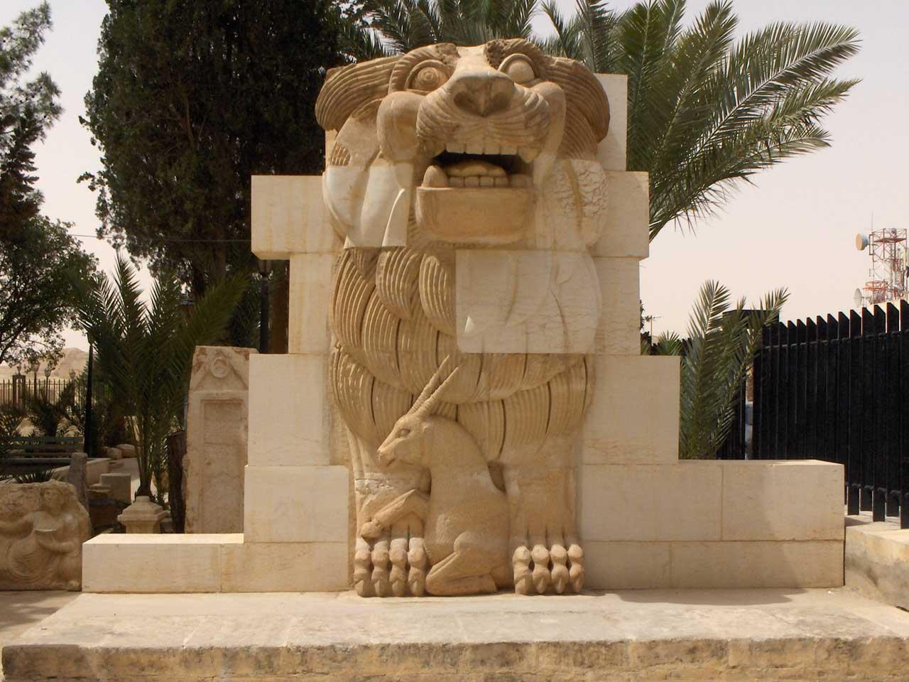 Lion Al-lat at Palmyra